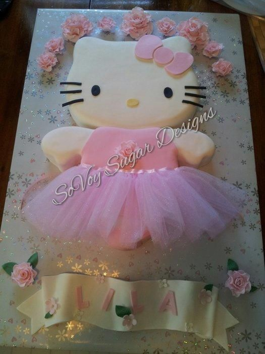 Hello Kitty Ballerina - Cake by Kimberly Washington