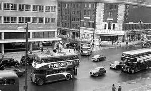 1954 (wrong date) out front of the Bus station on Frensway