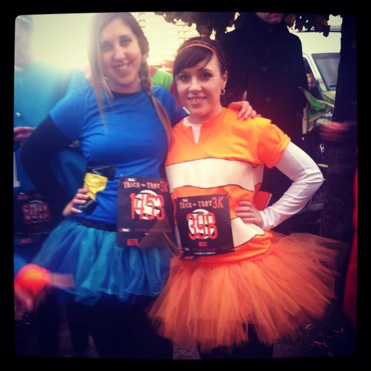 Dory and Nemo costumes runDisney!! Pinterest