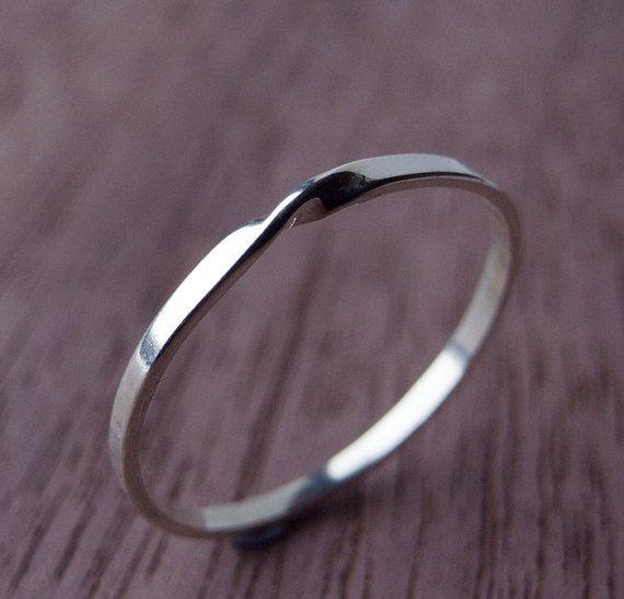 Moebius-Ring aus Sterlingsilber von Scape auf Etsy