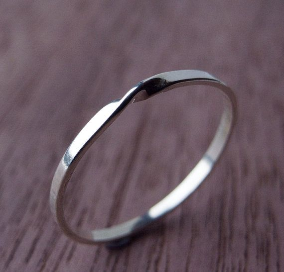Moebius Ring in Sterling Silver, lovely!                                                                                                                                                                                 More