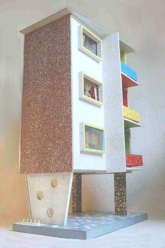 garage teilweise offen machen barbie haus diy. Black Bedroom Furniture Sets. Home Design Ideas