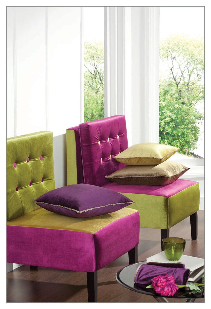 One can truly appreciate the high sheen luxury of velvet, blended perfectly with olive green and mauve. This is the Nampa collection. #DDecor #DDecorDiaries #AsYouLikeIt #Nampa