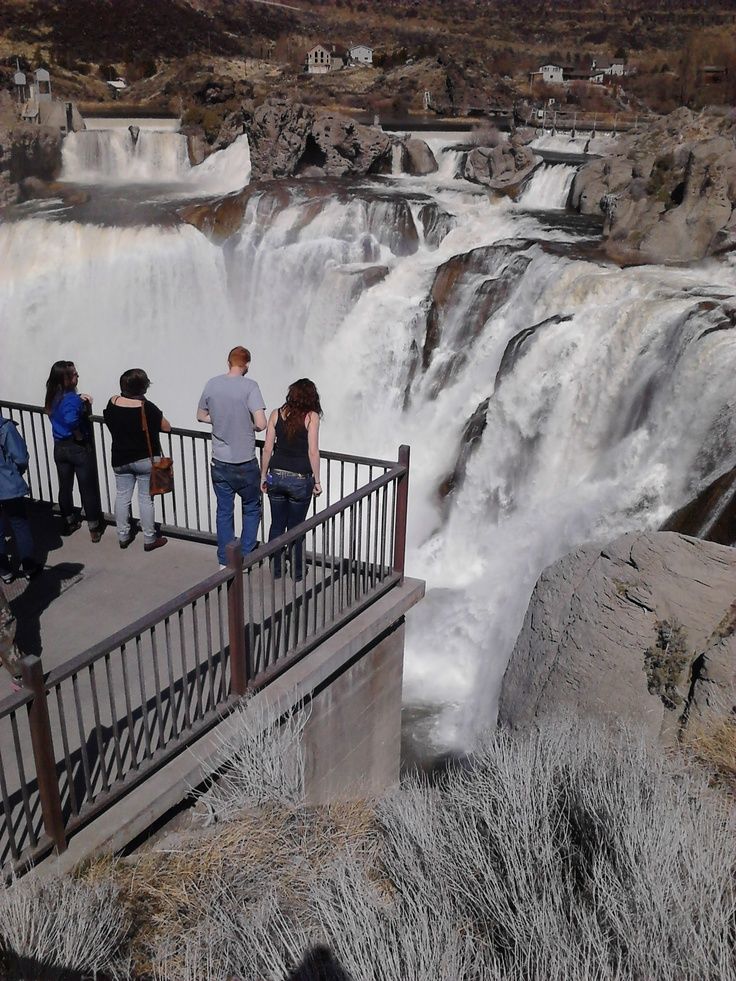 Finally a place to go in Idaho! Shoshone Falls Idaho.I want to go see this place one day. Please check out my website Thanks.  www.photopix.co.nz