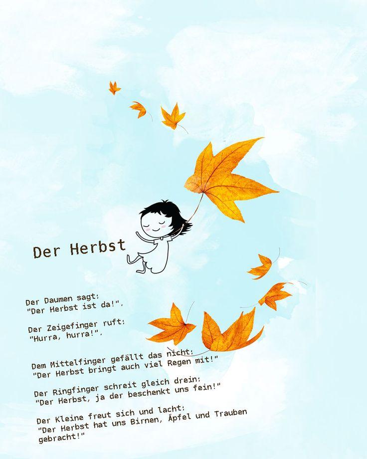 #herbst #kindergarten #erzieher #erzieherin #gedicht #reim #kita