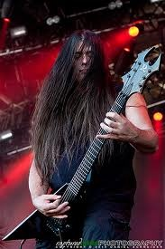 Pat O'Brien - Cannibal Corpse   See comments for Rob Barret - quite the death metal guitar duo!