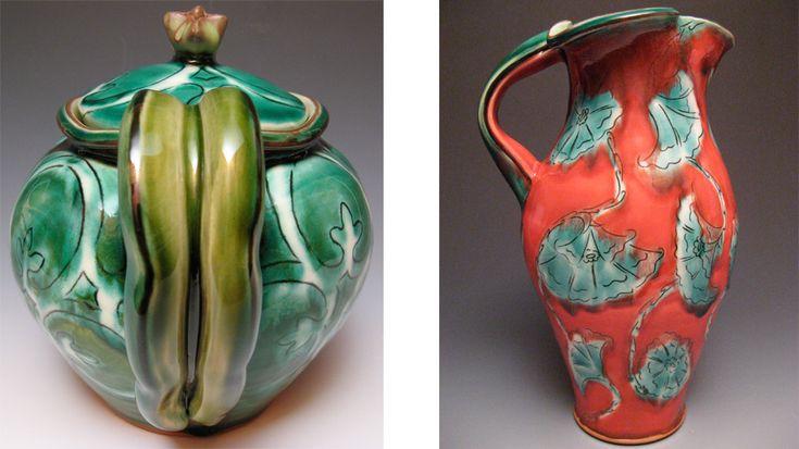 Joan Bruneau - Studio Potter - Lunenburg Nova Scotia