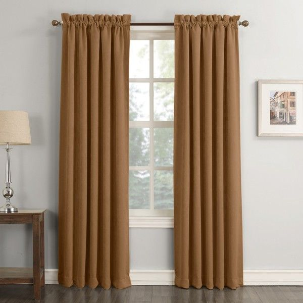 Sun Zero Cassidy Velvet Blackout Rod Pocket Curtain Panel : Target (490 MXN) ❤ liked on Polyvore featuring home, home decor, window treatments, curtains, target curtain panels, rod pocket curtain panels, target blackout curtains, rod pocket draperies and target window panels
