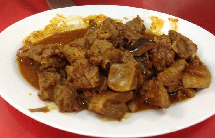 Curry Wild Boar @ Restoran Grand View @ Bukit Tinggi