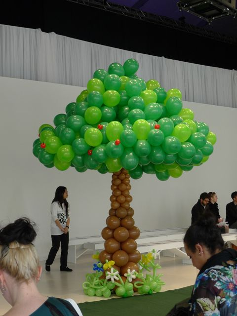 As Bubbly as balloons! Adrian Wu Hierarchy of Needs FW 2012 - The Office Chic