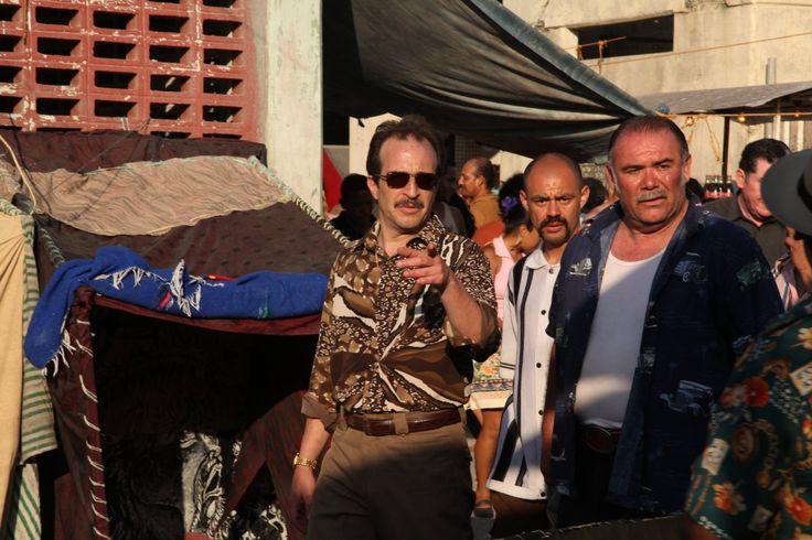 Daniel Giménez Cacho, Roberto Sosa, and Jesús Ochoa in Atrapen al gringo (2012)
