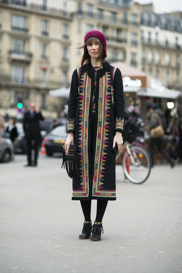 Couture Fashion Week street style – Anya Ziourova                                                                                                 20 / 99