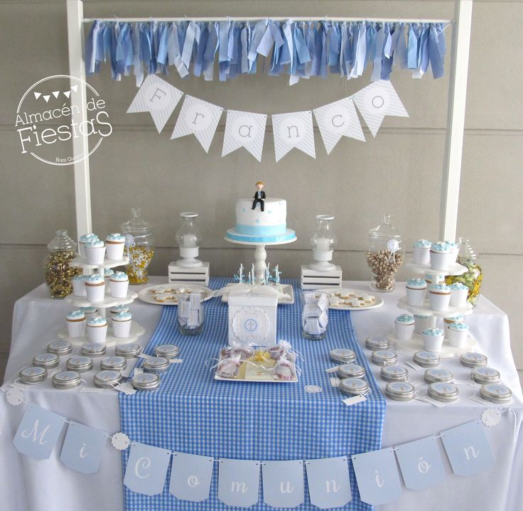 Mesa dulce Comunión. Dessert Table Communion
