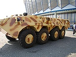 Saur 2 8x8 Armoured Personnel Carrier, Romania