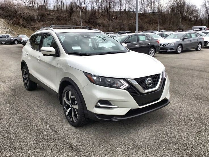 Used 2020 Nissan Rogue SL Pearl White Nissan Rogue Sport