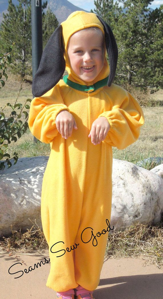 Pluto Costume for Toddlers by SeamsSewGood on Etsy