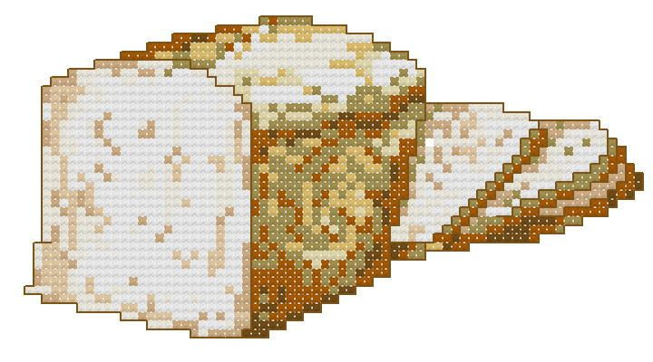 Loaf of Bread cross stitch