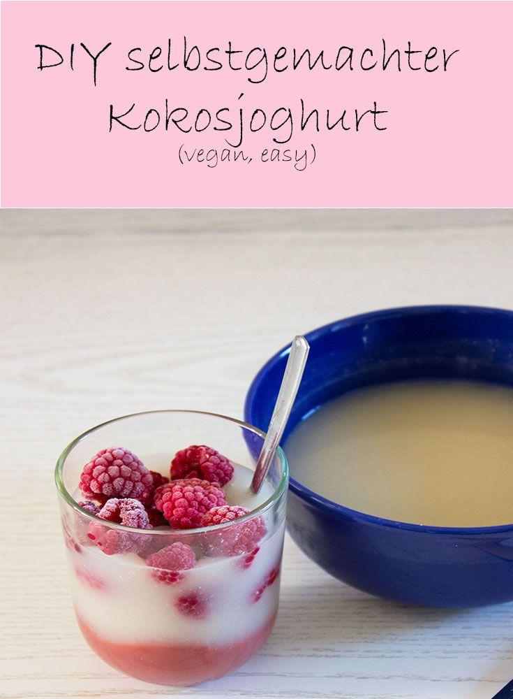 Dieser selbstgemachte, sojafreie, vegane Joghurt wird euch umhauen! Er ist total einfach gemacht und schmeckt super! This selfmade, soyfree, vegan yoghurt ist the best vegan alternative!