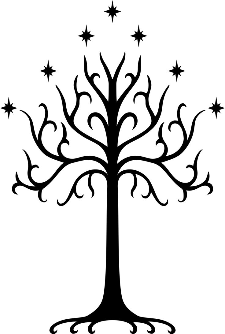 lord of the rings tree symbol - Google Search