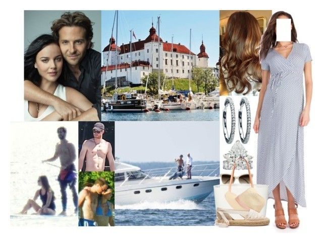 """""""Spending the Day on the Boat with Carl-Philip, William, Kate, and Harry & Heading to Lake Vänern to Visit her Best Friend, Nicoline and her Husband, Alek, Count of Läcko, at Läckö Slott"""" by louiseingrid-ofdenmark ❤ liked on Polyvore featuring Marysia Swim, STELLA McCARTNEY, Mansur Gavriel, Melissa Odabash and Berkshire"""