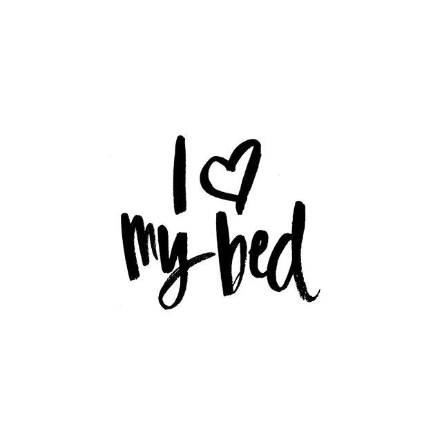 Yesssss. Crawling in bed after a busy day has to be one of the best feelings in the entire world.