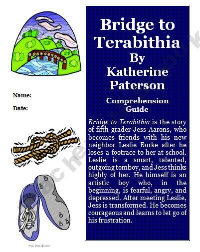 Bridge to Terabithia Reading Activity Guide