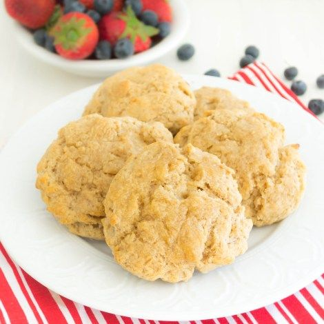 Whole Grain Buttermilk Drop Biscuits | Pick Fresh Foods