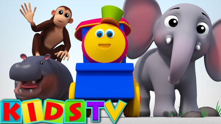 Bob, The Train - Alphabets Animals Video   #ABCSong For Kids And Children #kidssongs #nurseryrhymes