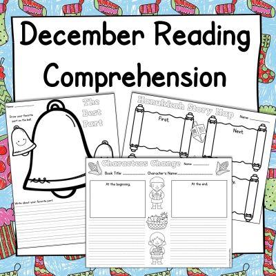 December Reading Comprehension Activities Hanukkah