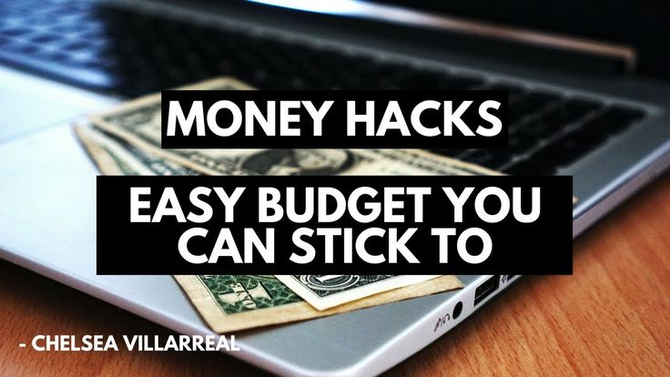 MONEY HACKS: How To Make A Realistic Budget You Can Actually Stick To