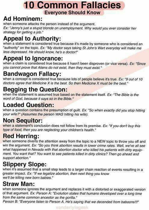 best speech images funny pics hilarious stuff  logical fallacies recognize them in speeches articles or conversation to help you counter arguments