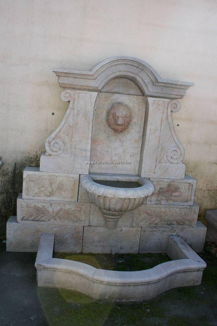 Fuentes de pared fuente de pared grandes de marmol - Fuentes de marmol para jardin ...