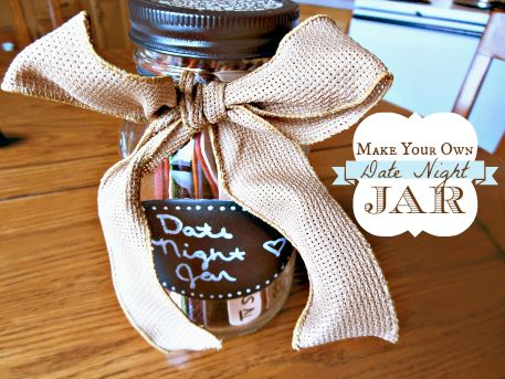 Date Night Jar from @Chelsey Boatwright Photography Hartman - Ellie's pick from THE Pin It Party #23