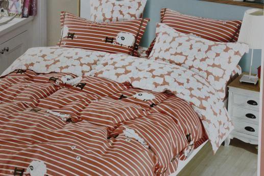 Ткань для детского постельного белья, барашки