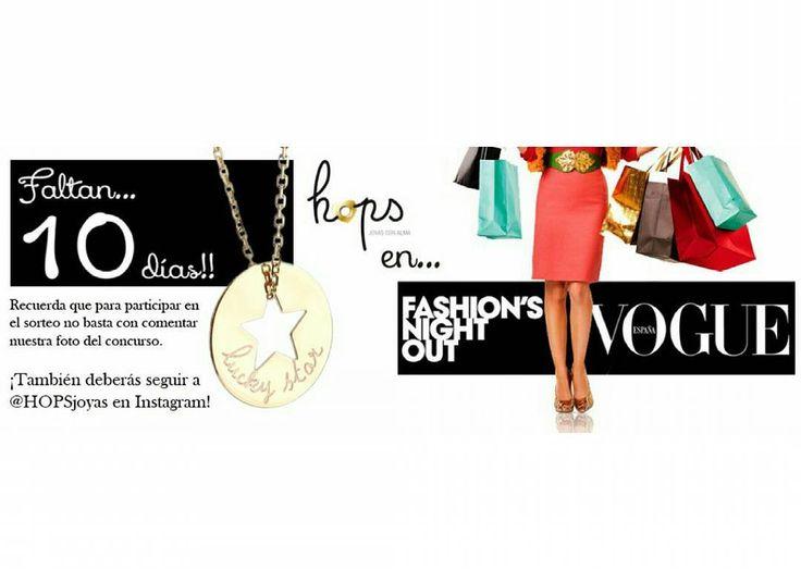 ¿Aún no has participado en nuestro sorteo de un collar Diana Estrella con cadena con motivo de #VFNO2016? ¡Todavía estás a tiempo! #Vogue #Moda #JoyasPersonalizadas #ModaFemenina #ModaMujer #Complementos #Joyería #Jewelry #sorteo #collar