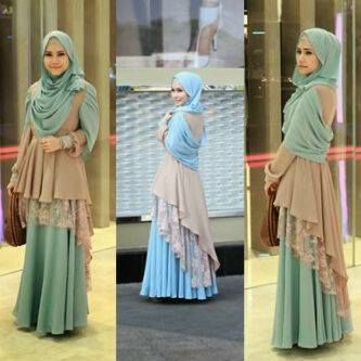 Nailah Maxi New Fashion Moslem 143rb, bahan Spandex Korea Import (High Quality) combination brocat + pashmina, READY |   Model menarik lain'y ada disini..  https://www.facebook.com/orinbeautycare?ref=hl  http://orinbeautycare.blogspot.com/2014/01/nailah-maxi-new-fashion-moslem.html #fashion #hijabstyle