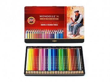 KOH-I-NOOR Акварельные карандаши Mondeluz, купить недорого в Москве: цена, фото, отзывы