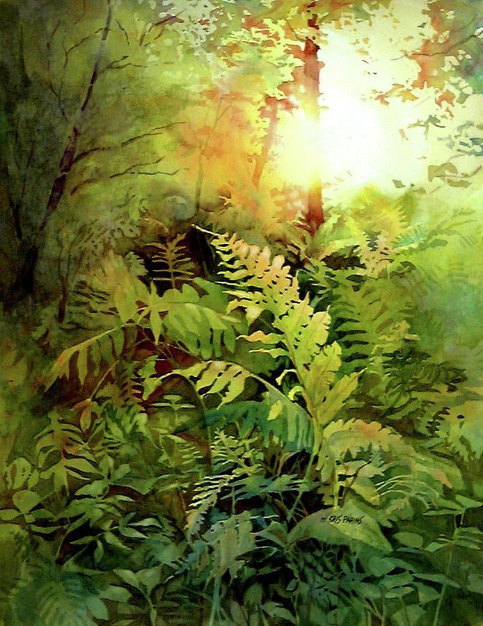 garden of the heart kris parins farn fern pinterest bl tter dschungel und. Black Bedroom Furniture Sets. Home Design Ideas