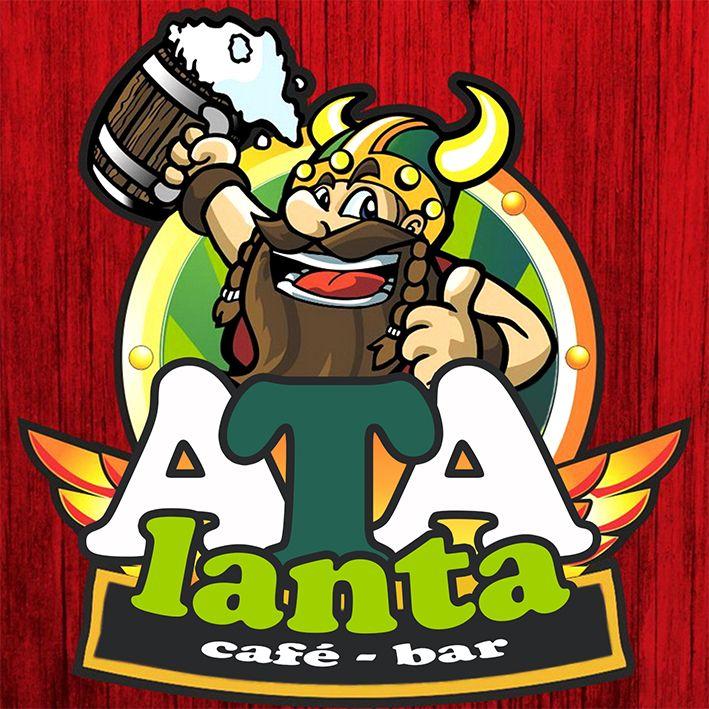 #Portfolio  Diseño de logotipo para Atalanta, café-bar de ambiente vikingo.  #Hilarito #Logotipo #Logo #Diseño #DiseñoGráfico #Vector #Color #Logotype #Design #GraphicDesign #Branding #Marketing #Ilustración #Illustration