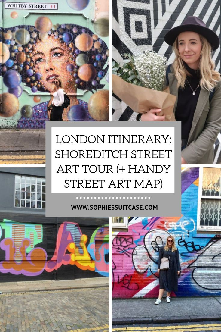 Shoreditch Map: London Itinerary: Shoreditch Street Art Tour + Map (With