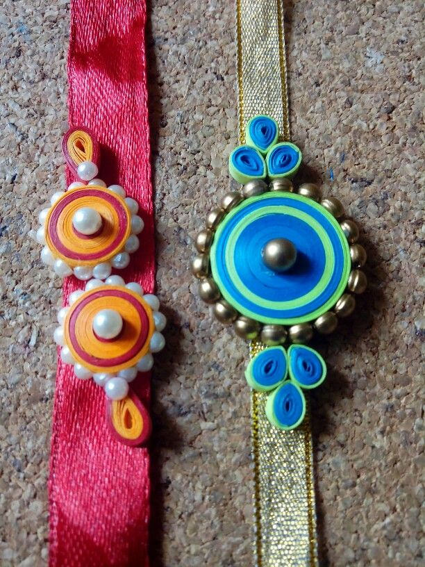 Quilled Rakhi                                                                                                                                                      More