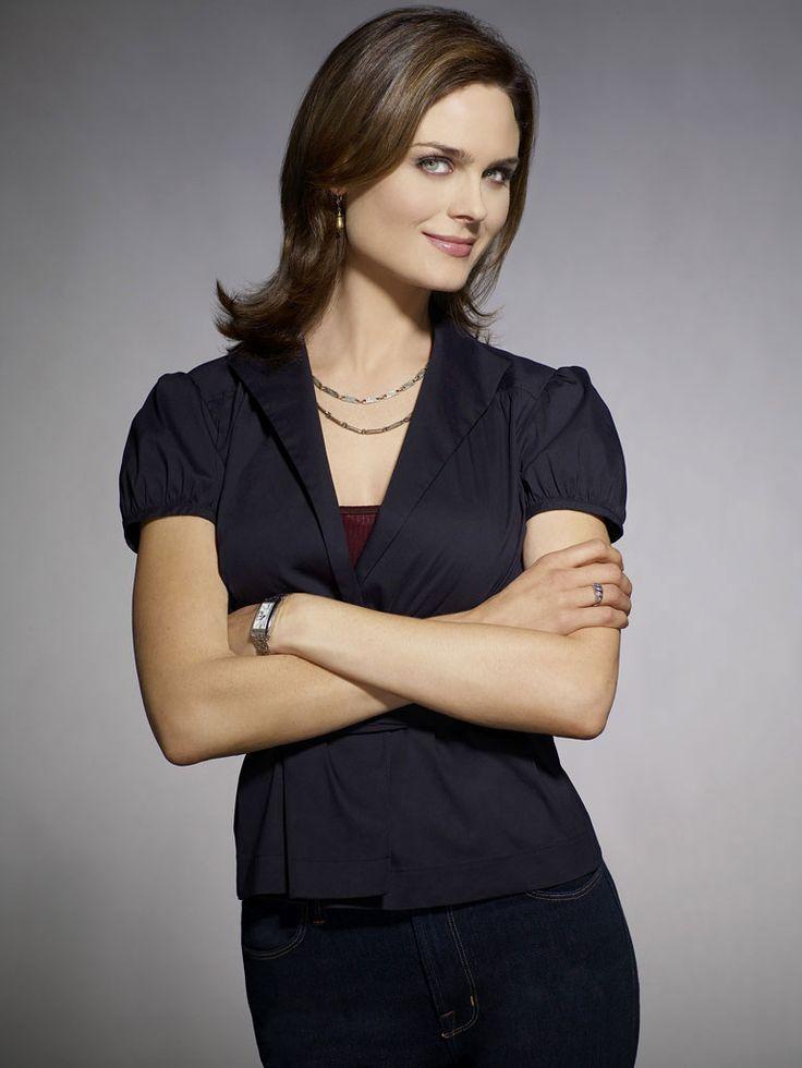 Emily Deschanel as Dr. Temperance Brennan on Bones