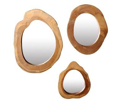 Набор из 3 зеркал Redondo