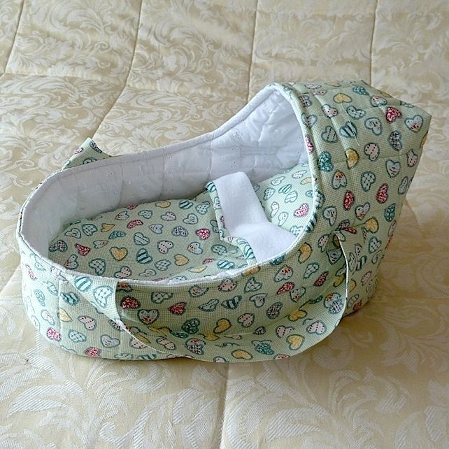 Doll's Carrycot suitable for doll 35cms £16.99