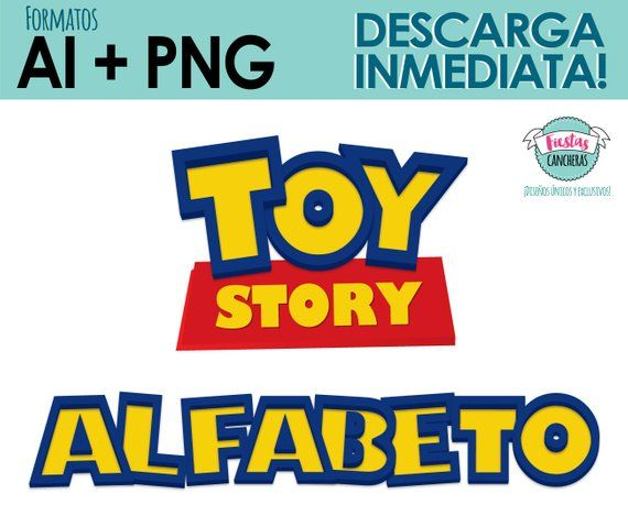 Alphabet Toy Story Numbers And Red Poster Toy Story Logo Create Your Custom Logo Ready To Use A Toy Story Toy Story 3 Toy Story Theme