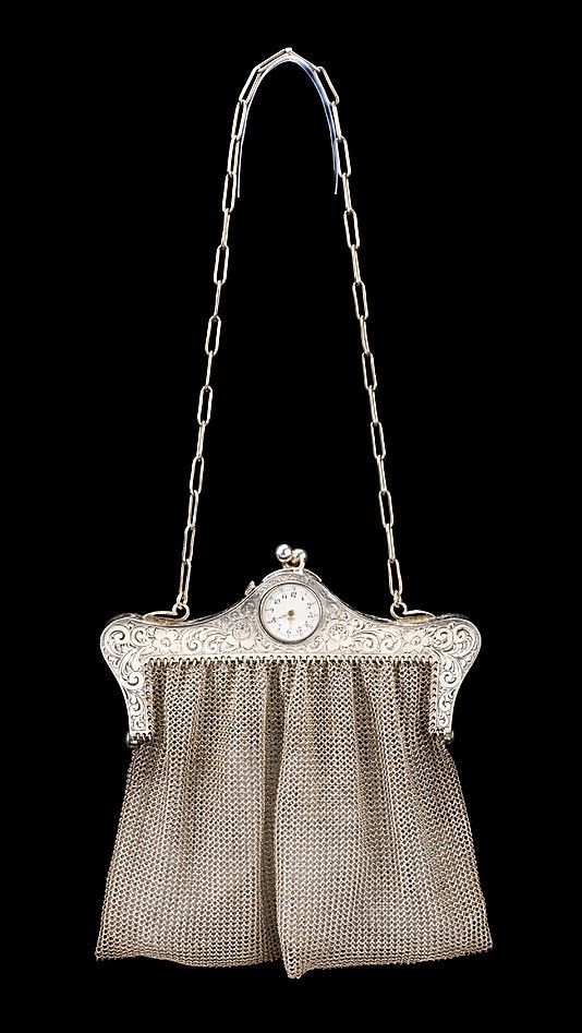 Purse - c. 1920 - Culture: American - Metal - The Metropolitan Museum of Art