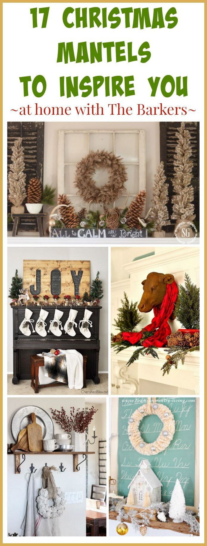 High Quality 17 Christmas Mantels To Inspire You