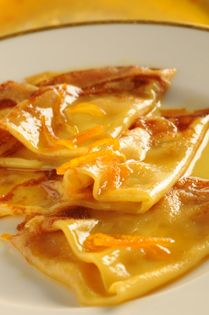 Crepes Suzettes... Another very French dessert... My own recipe: prepare crepes. Then in a pan, heat a mix of sugar, butter, orange juice, orange peel, cognac and Grand Marnier. Reduce. Pour on the crepes fold in 4 and put them in the oven for 5 minutes. Keep some sauce to flambe at the end (in front of the guests)