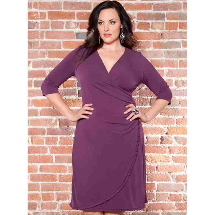 Tory Cinch Dress (Purple) $19.60 http://www.curvyclothing.com.au/index.php?route=product/product&path=59_61&product_id=781