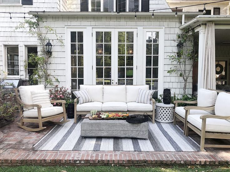 Summer Outdoor Rooms That Will Inspire You Outdoor Living Space Outdoor Patio Furniture Outdoor Rooms